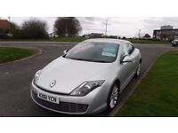 RENAULT LAGUNA 2.0 DYNAMIQUE Coupe TOMTOM DCI,(61)plate,Alloys,Air Con,6 Speed,Full Service History