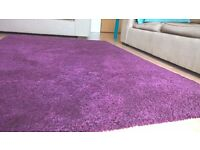 Rug Ikea ADUM purple in PERFECT CONDITIONS - Only 4 months old!