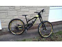 YT Tues AL with upgraded Mavic Demax wheels