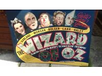 CANVAS OF WIZARD OF OZ
