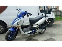 Baotain 125 scooter moped long mot drive away works as it should