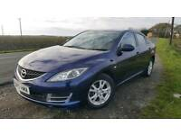 Mazda 6 1.8 TS 5dr. Blue,. 12 months MOT
