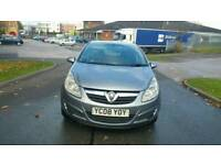 Vauxhall corsa 2008 1.2 petrol cheap tax and insurance hpi clear excellent drive