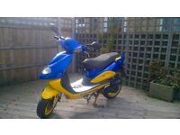 tgb hawk 50cc sale/swap