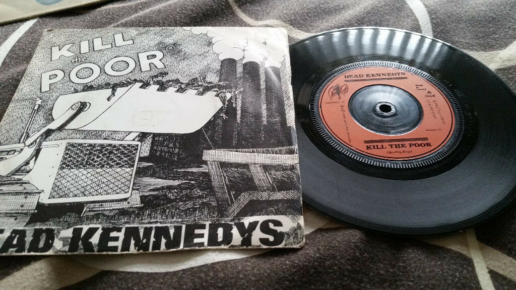 Dead Kennedys kill the poor vintage vinyl record