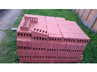 Bricks for sale, Smooth Red, one palette