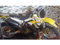 rm 125 2009, competition style, race ready not dtr cr ktm kx yz its beat them all its too quick :)