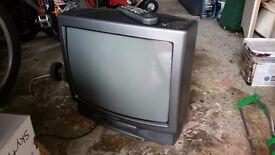 "21"" Black Matsui TV"