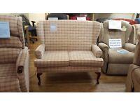 Ex-Display HSL Buckingham Comfort Sofa, Free Delivery