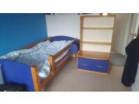 Cresta single bed with mid sleeper and high sleeper adjustments