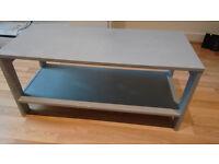 coffee table ikea painted in grey