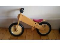 New: Kokua LikeaBike balance bike in v good used condition.