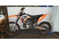 Ktm 250 2 stroke 2007 model mint bike must be seen not 150 250f 450f kxf crf rmz yzf