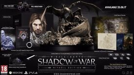 Middle-earth: Shadow of War PS4 Mithril Edition (Collectors Edition)