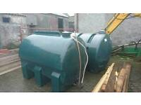 Oil tanks central heating