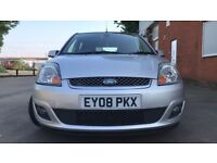 2008 Ford Fiesta 1.6 Ghia 5dr, Automatic,Full leather seats, Very Low Mileage, HPI Clear