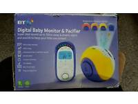 Baby monitor & pacifier