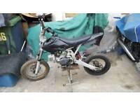 Pit bike. 125 cc
