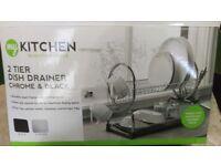 Dish rack - unused - boxed - £7 quick sale