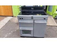 BELLING CLASSIC 90EI INDUCTION RANGE COOKER IN GOOD CONDITION AND WORKING ORDER