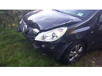 DAMAGED Vauxhall Corsa 1.4. UNRECORDED HPI CLEAR NOT CAT. V5 2 keys