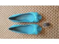 Ladies blue Quiz shoes brand new