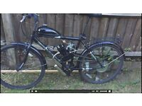 80cc Motorised Bicycle For Swap 35mph !!!!!!!!!!