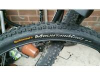 MTB tyre - Continental Mountain King