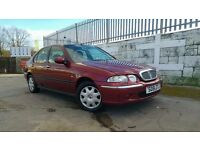 2001 Rover 45 Impression 1.4 5 Door - MOT October 2017 - 2 Owners - 60338 Miles - Service History