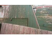 SHED IN NEED OF REPAIR