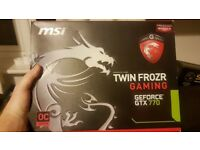 MSI GeForce GTX 770 OC Edition graphics card