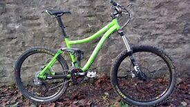 "Norco LT Fluid Mountain bike 6"" travel 2009"