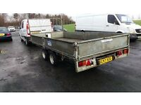 ifor williams 14x6 flatbed dropside trailer