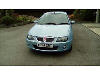 Blue Rover 25 Hatchback 1400cc Petrol