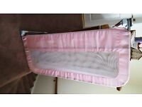 PINK CHILD'S BEDGUARD