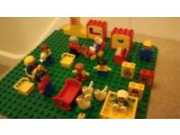 Assorted large box of Duplo