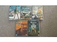 Breaking Bad DVD's Series 1-5