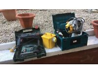 Asorted power tools
