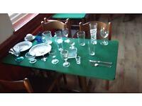 Job Lot of beautiful cutlery, crockery & glassware plus extras - cafe closure