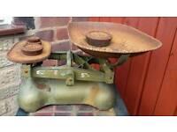 Old vintage imperial rustic scales