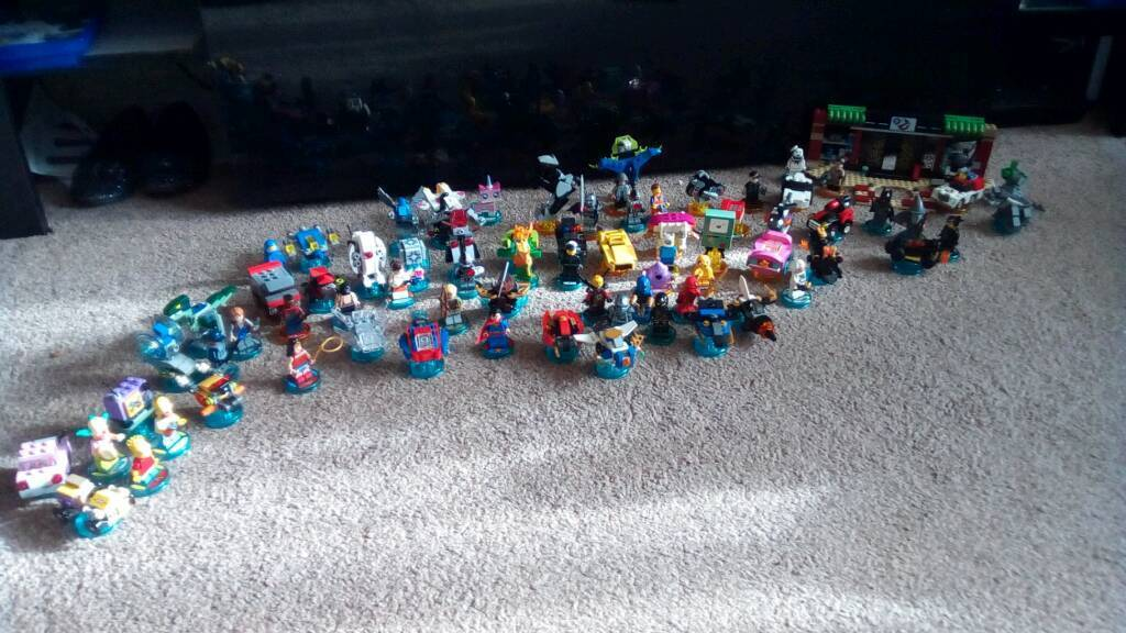 Large Lego dimensions bundle make an offer!!