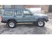 JEEP CHEROKEE ESTATE 2.5 TD TURBO DIESEL 4X4 FROM FIRST OWNER