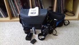 Nikon D70 SLR Camera + Accessories - NOW SOLD
