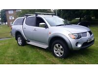 !!! NO VAT !!! Mitsibishi L200 LWB - Double Cab DI-D Elegance 4WD Automatic 134Bhp - With Roof Box!