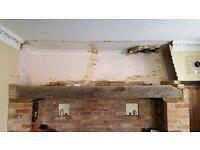 Oak Beam ideal for a fireplace