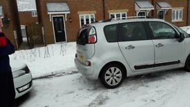 CITROEN PICASSO C3 EXCELLENT CONDITION 1.6HDI FULL SERVICE HISTORY COMES WITH 2 SNOW WHEELS