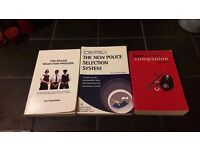 Police recruitment selection books