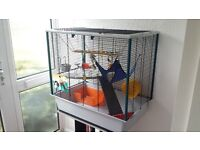 New ferret / Rat cage with accessories