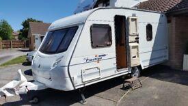 4 berth caravan with Fixed Bed ***CRIS REGISTERED***