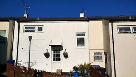 3-bedroom, mid-terraced house with garden, newly refurbished [UPDATED]